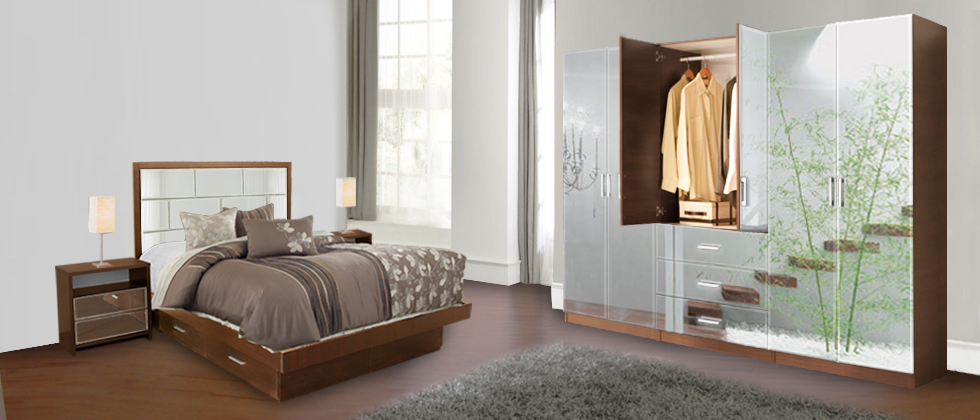 Mirrored Wardrobe Closets | Free Standing Mirror Wardrobes ...