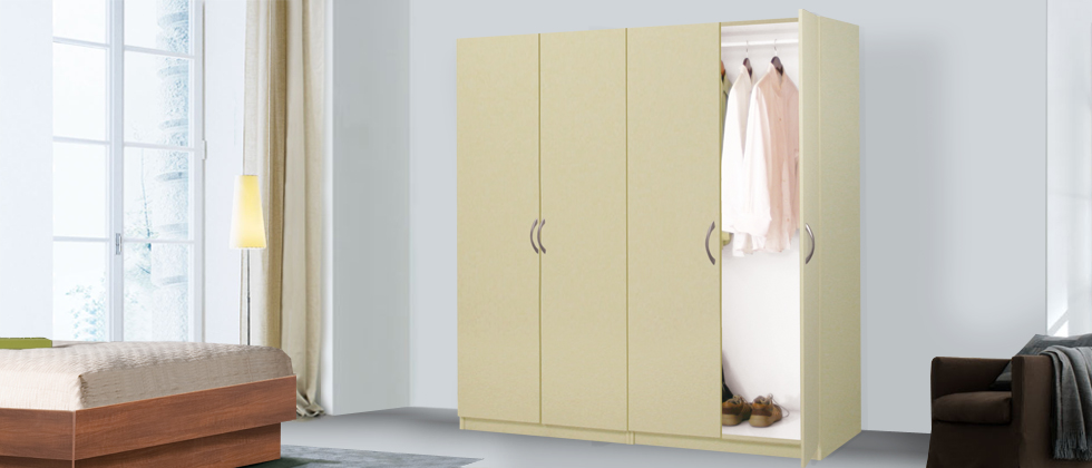 Wardrobe Closet In Bedroom