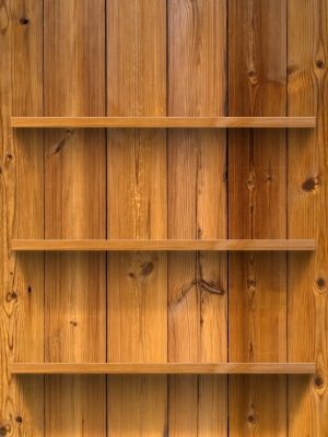 Shelves are a frighteningly simple idea that bestow storage ease upon any space.