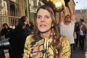 Anna Dello Russo's golden closet rules (Photo credit: Getty Images)