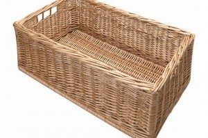 Wicker baskets are an inexpensive, efficient solution to your storage necessities.