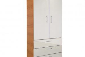 Freestanding wardrobes are a portable, versatile solution to storage needs.