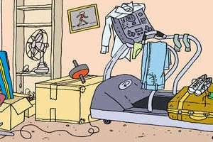 Is this what your treadmill looks like? Clean it up!