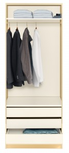 ...and compact wardrobes for small spaces
